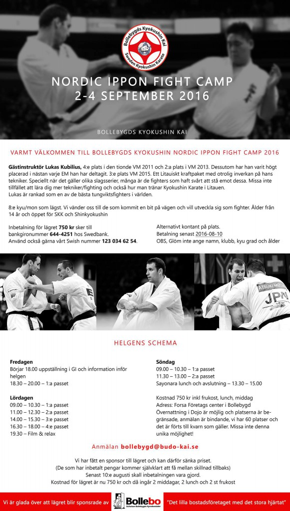 Nordic Ippon FightCamp 2016